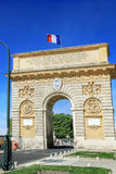 Triumphal Arch of Montpellier,  France. Royalty Free Stock Images