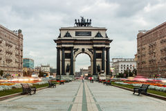 Triumphal Arch of Moscow to commemorate Russia's victory Royalty Free Stock Photography