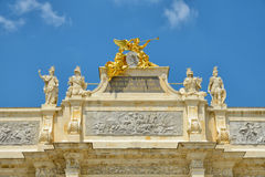 Triumphal Arch in Nancy Royalty Free Stock Images