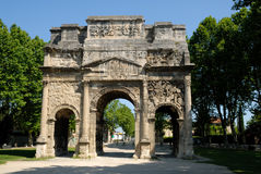 Triumphal Arch of Orange, France Stock Photography