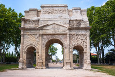 Triumphal Arch of Orange, France Royalty Free Stock Image