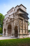 Triumphal Arch of Orange, France Royalty Free Stock Photos