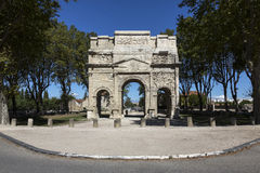 Triumphal Arch of Orange - Orange - France Stock Photo
