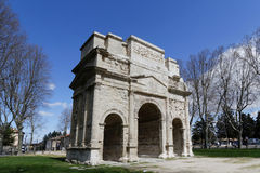 Triumphal Arch of Orange Stock Photography