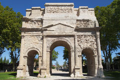 Triumphal Arch of Orange Royalty Free Stock Image