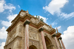 Triumphal Arch, Paris Royalty Free Stock Photo