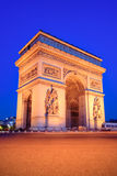 The Triumphal Arch, Paris Royalty Free Stock Photography