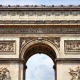 Triumphal Arch, Paris Stock Photos