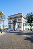 Triumphal Arch, Paris Royalty Free Stock Image