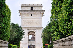 Triumphal Arch Royalty Free Stock Photo