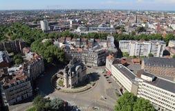 Triumphal arch Porte de Paris in Lille, France Royalty Free Stock Images