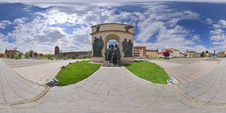 Triumphal Arch, Reconciliation Park, Arad, Romania Royalty Free Stock Photo