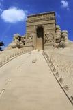 Triumphal arch sculpture Stock Photography