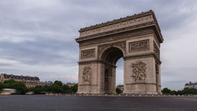 Triumphal Arch side view stock video