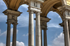 Triumphal arches Royalty Free Stock Photography