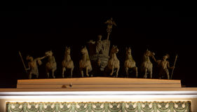 Triumphal chariot Stock Photography