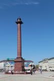 Triumphal column Royalty Free Stock Photo