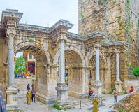 The Triumphal Gate in Antalya Royalty Free Stock Image