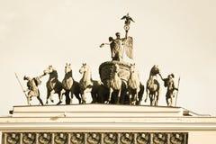 Triumphbogen Stockbild