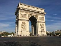 Triumphbogen Paris Frankreich Lizenzfreies Stockfoto