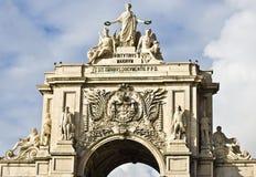 triunfal arco Royaltyfri Foto