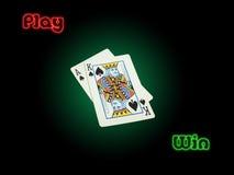 Triunfo del juego Imagenes de archivo