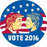 Triunfo 2016 del voto contra Clinton