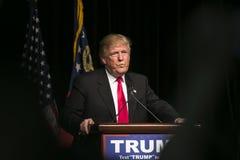 Triunfo republicano de Donald J del candidato presidencial Imágenes de archivo libres de regalías