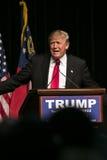 Triunfo republicano de Donald J del candidato presidencial Fotos de archivo