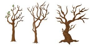 Triunfo/tronco del árbol stock de ilustración
