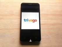 Trivago app stock photography