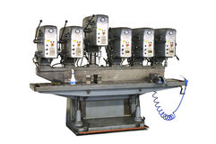trivelli industriali del metallo fotografia stock
