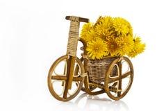 Trivet ως wickerwork ποδηλάτων. Στοκ Εικόνες