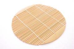 Trivet de bambu imagens de stock