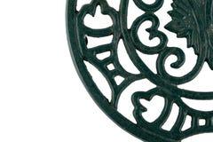 Trivet del hierro Imágenes de archivo libres de regalías