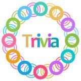 Trivia Colorful Rings Circular Stock Photos
