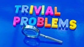 Trivial problems Stock Photos