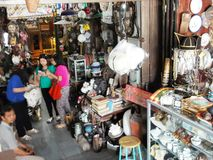 Triwindhu Antique market Royalty Free Stock Images
