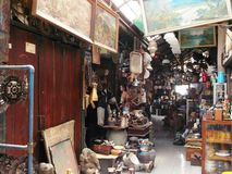 Triwindhu Antique market Stock Photography