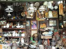 Triwindhu Antique market Stock Images