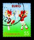 Trix i Flix, Uefa euro 2008 seria około 2008, Obrazy Royalty Free