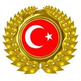 Türkische Flagge Stockbilder