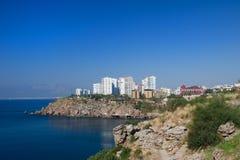 Türkische Küste Stockbild
