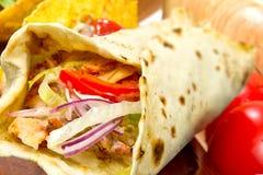 Türkisches Huhn doner kebab Lizenzfreie Stockfotos