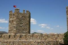Türkisches Schloss Stockbild