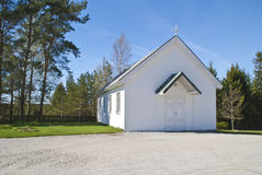 Trømborg church (chapel) Royalty Free Stock Photography