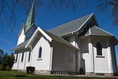 Trømborg church (south east) Royalty Free Stock Photos