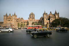 Término de Victoria, mumbai Foto de Stock Royalty Free