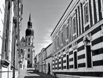 trnava святой nicolas церков Стоковая Фотография