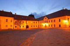 Trnava, Slovakia. Historic architecture in a square in Trnava, Slovakia Stock Photography